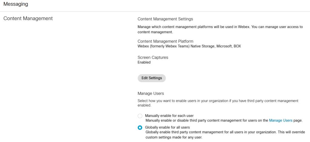 WebEx интеграция Microsoft OneDrive and SharePoint Online